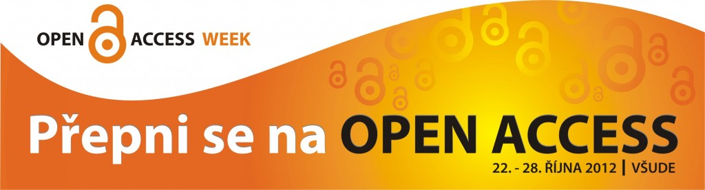Open Access Week 22. - 28. 10. 2012