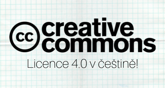 Nové oficiální překlady 4.0 licencí konečně zveřejněny i v češtině!